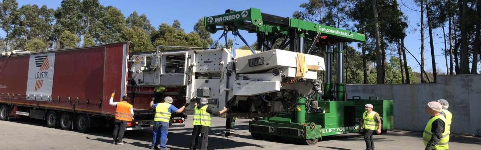 Machinery dismantling & movement