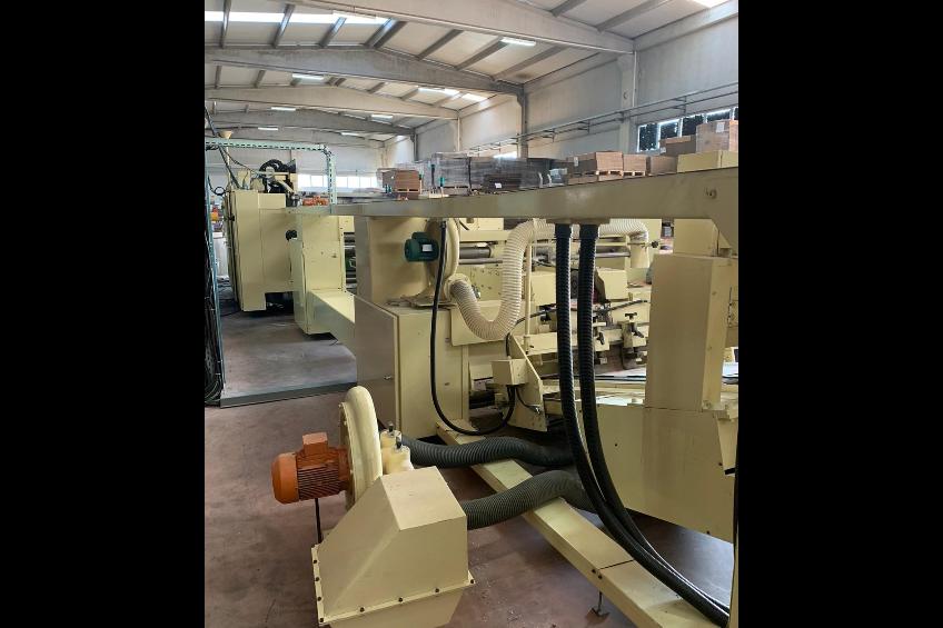 Martin Miniline 616 FFG Rapidset mit 2 Flexo Druckwerke und RDC
